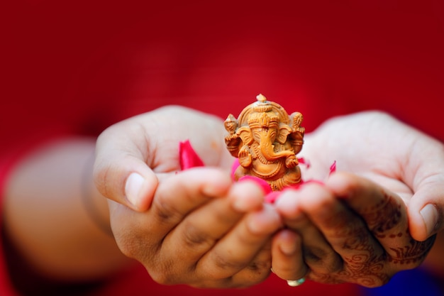 Lord ganesha ganesh festival Premium Fotos
