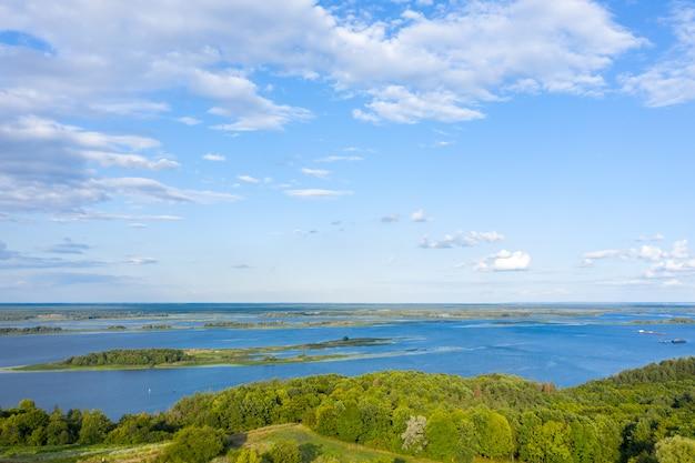 Luftaufnahme des everglades national park, florida usa. sumpf, feuchtgebiete. Premium Fotos