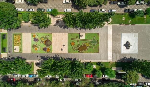 Luftaufnahme eines parks Kostenlose Fotos