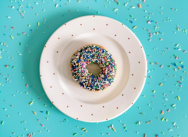 Luftbild von donut Kostenlose Fotos