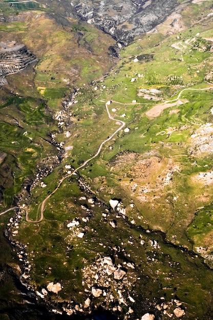 Luftlandschaft von zypern Kostenlose Fotos