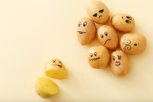 Lustige kartoffeln Kostenlose Fotos