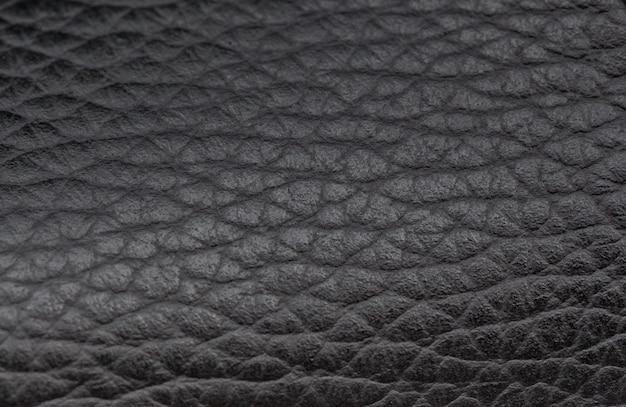 Luxus schwarzer leder textur hintergrund Premium Fotos