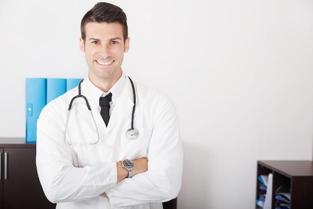 Männlicher doktor Premium Fotos