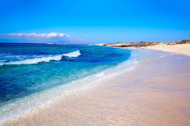 Majanicho strand fuerteventura kanarische insel Premium Fotos