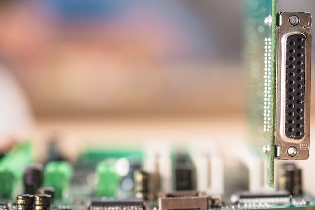 Makroschuß des computer adapters Kostenlose Fotos