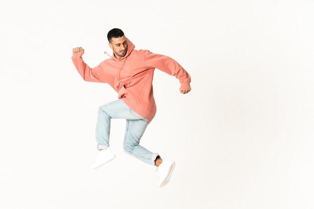 Man tanzt street dance-stil Premium Fotos