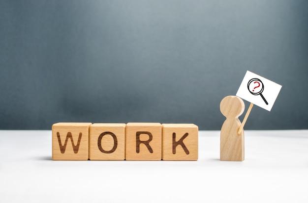 Mann auf arbeitssuche oder teilzeitjob Premium Fotos