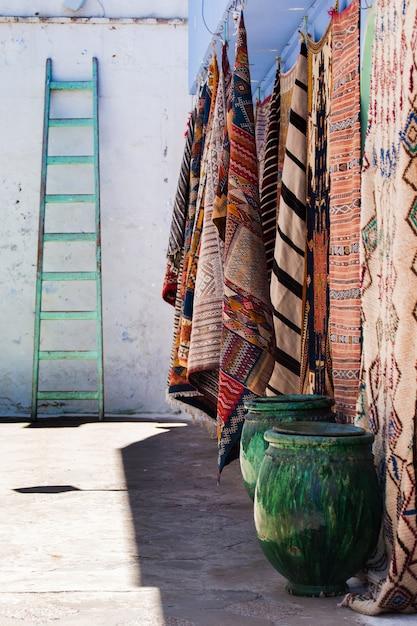 Marokkanische teppiche Premium Fotos