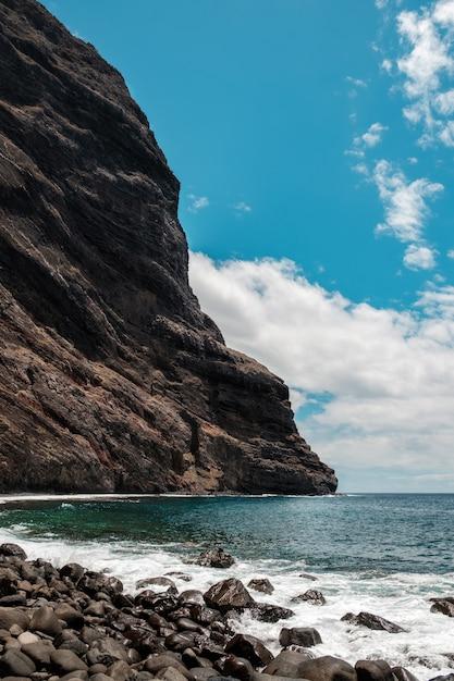 Masca strand am ende der masca schlucht Premium Fotos