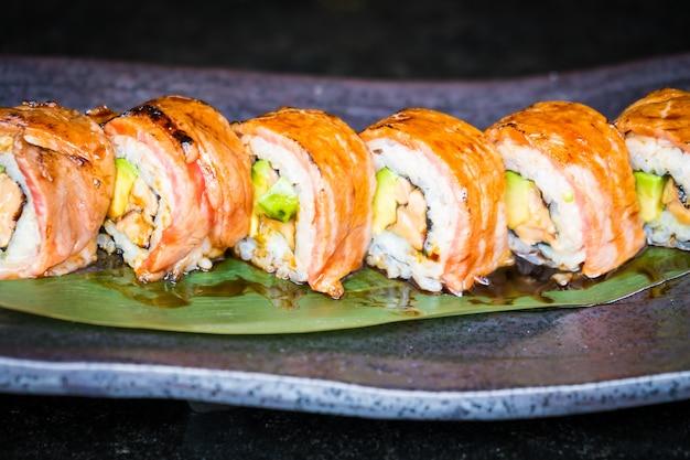 Matsusaka und Wagyu Rindfleisch Sushi Kostenlose Fotos