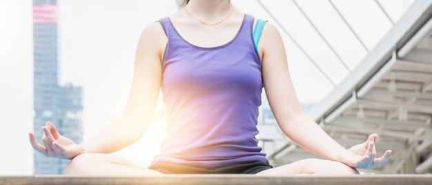 Meditation. Premium Fotos