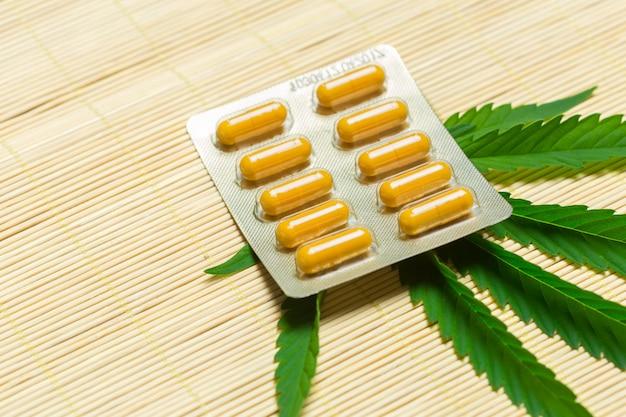 Medizinisches marihuana Premium Fotos
