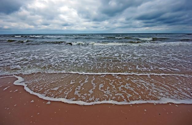 Meer mit wolken Kostenlose Fotos