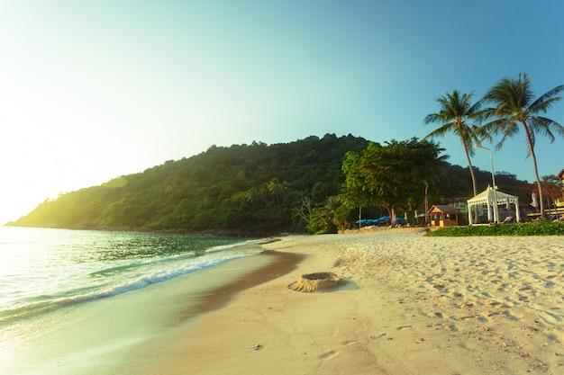 Meer. tropisches paradies. Premium Fotos