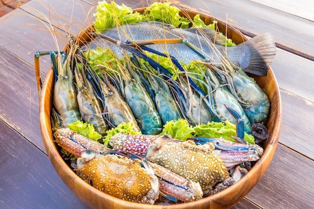 Meeresfrüchte-set Premium Fotos