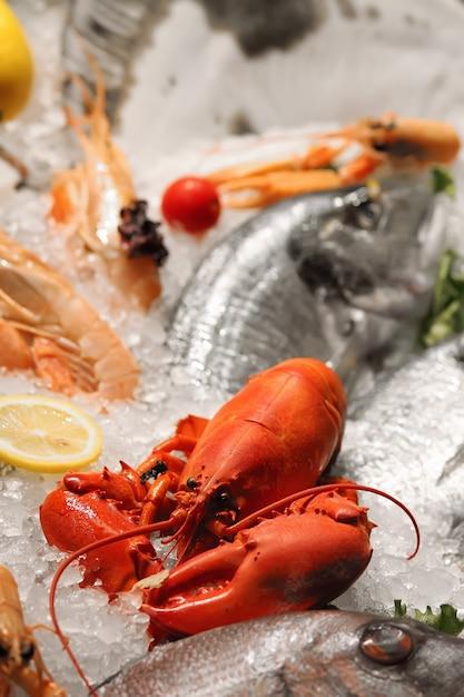 Meeresfrüchte Premium Fotos