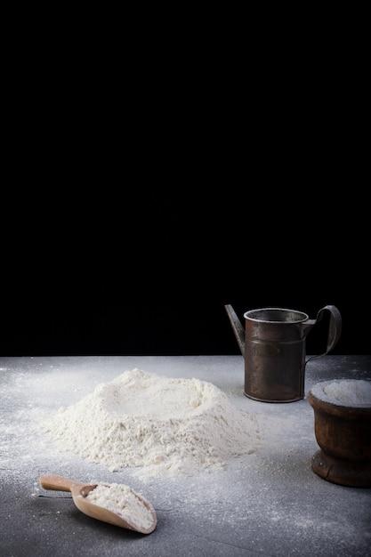 Mehl und kochutensilien Premium Fotos