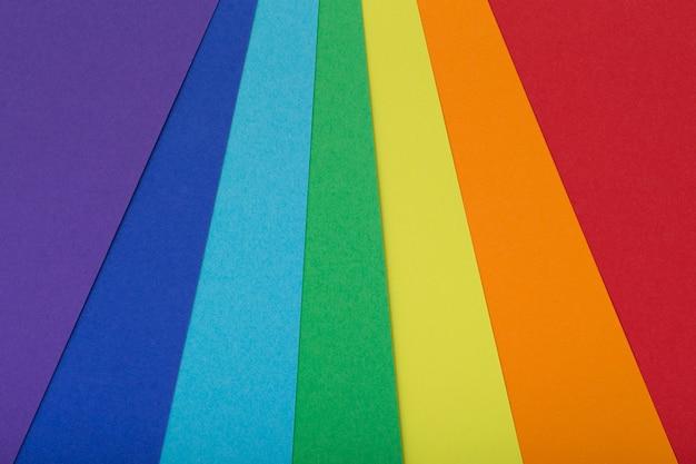 Mehrfarbenhintergrund von einer pappe von verschiedenen farben Premium Fotos