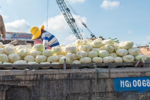 Mekong schwimmenden markt Kostenlose Fotos