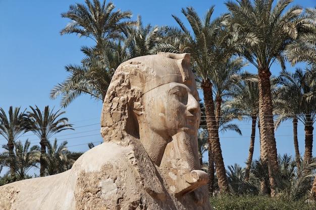 Memphis ist die alte hauptstadt ägyptens Premium Fotos