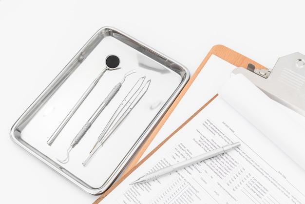 Metall Makro medizinischen Stahl rostfrei Premium Fotos