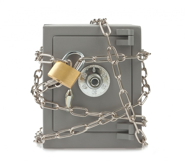 Metall sicher Premium Fotos