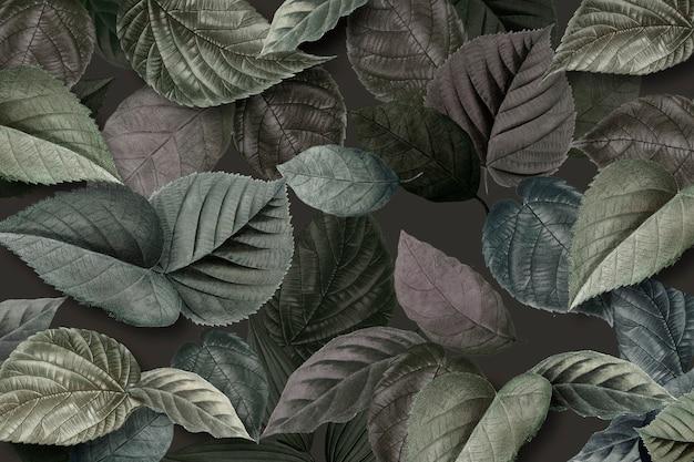 Metallic grüne blätter strukturiert Kostenlose Fotos