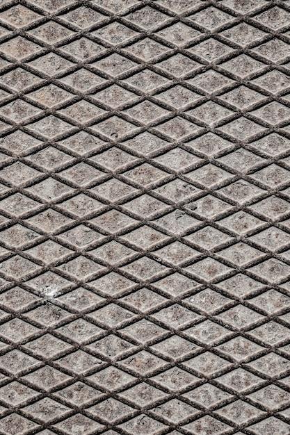 Metallischer hintergrund mit diamantformen Kostenlose Fotos