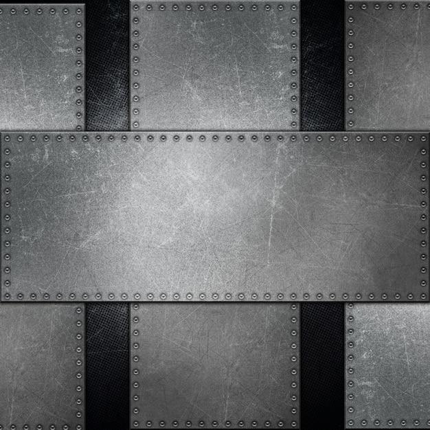 Metalloberfläche mit schrauben Kostenlose Fotos