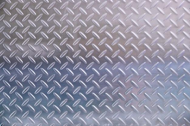 Metallplatte im silbernen farbhintergrund Premium Fotos