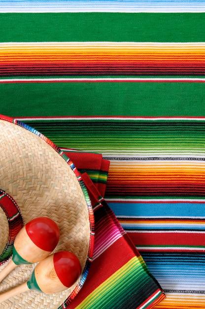 Mexikanische farbige elemente Kostenlose Fotos