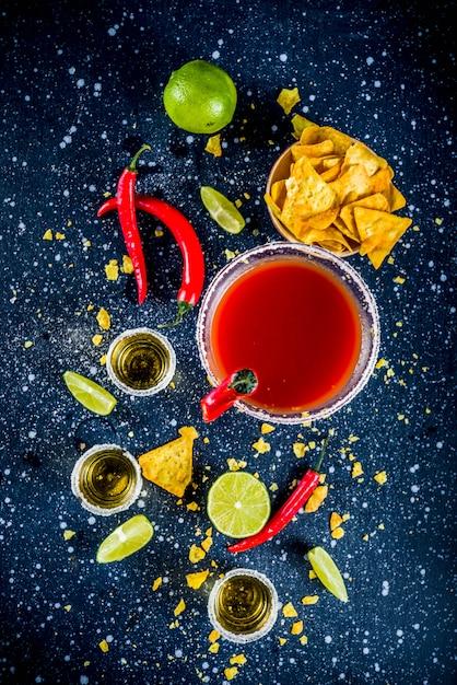 Mexikanischer cocktail für cinco de mayo Premium Fotos