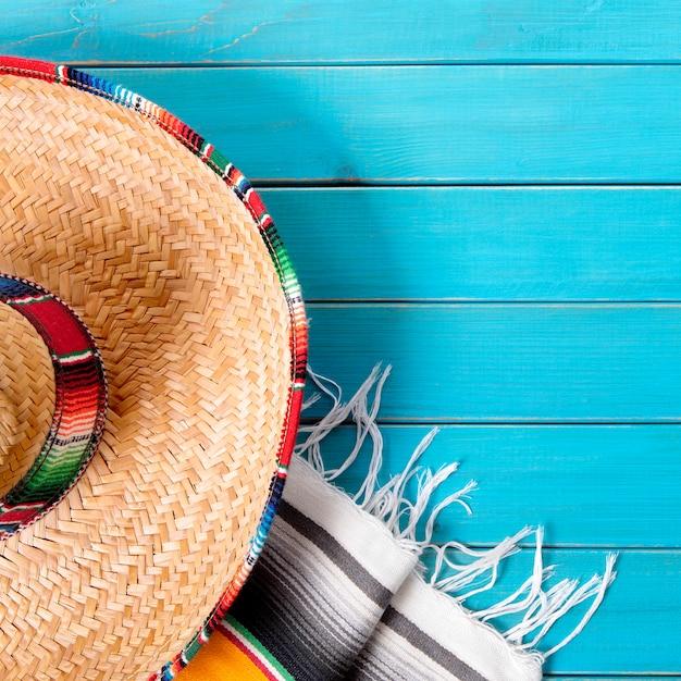 Mexikanischer hintergrund cinco de mayo Premium Fotos