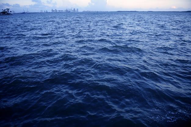 Miami beach weit von miami stadt entfernt Premium Fotos