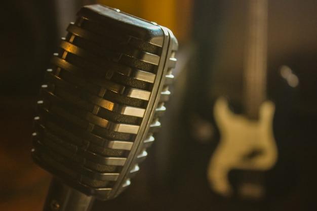 Mikrofon Premium Fotos