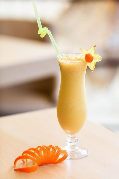 Milchcocktail im glas Premium Fotos