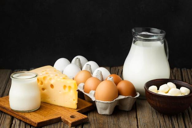 Milchprodukte aus der nähe Kostenlose Fotos