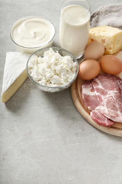 Milchprodukte und eier Kostenlose Fotos