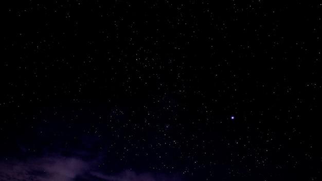 Milchstraße auf natürlichem hintergrund des nächtlichen himmels Premium Fotos