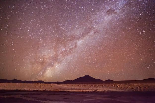 Milchstraße sterne Premium Fotos