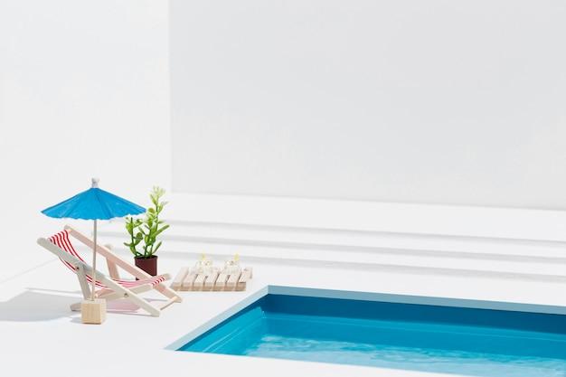 Miniatur pool stillleben arrangement Kostenlose Fotos
