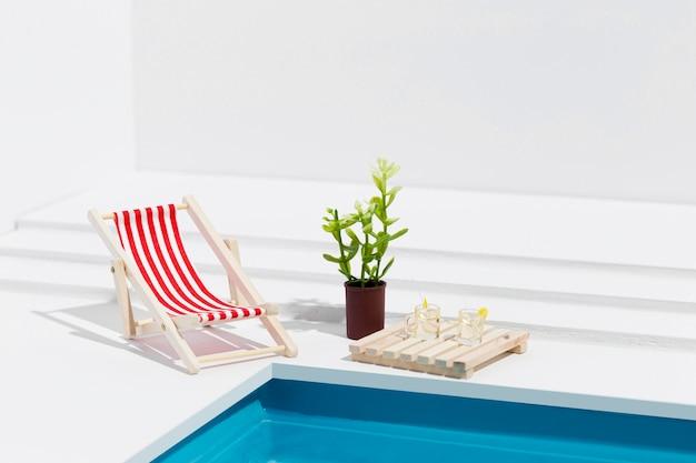 Miniatur pool stillleben zusammensetzung Kostenlose Fotos