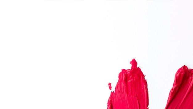 Minimalistische malerei mit roten strichen Kostenlose Fotos