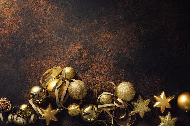 Minimalistische weihnachtsflachlage Kostenlose Fotos