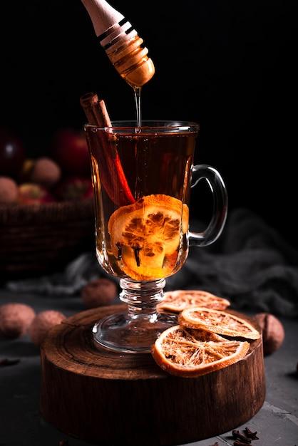 Honig In Heißen Tee