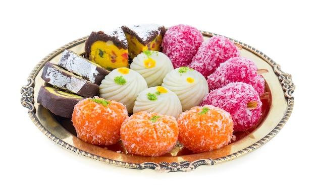 Mix süßes essen Premium Fotos