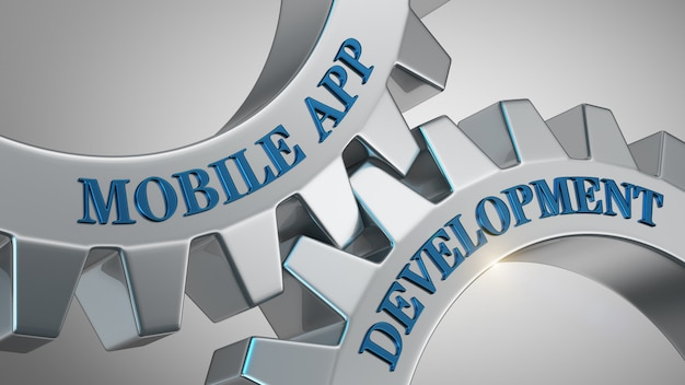 Mobile app-entwicklung Premium Fotos