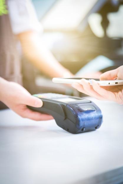 Mobile zahlungen, mobile scanning-zahlungen, von angesicht zu angesicht zahlungen, Kostenlose Fotos