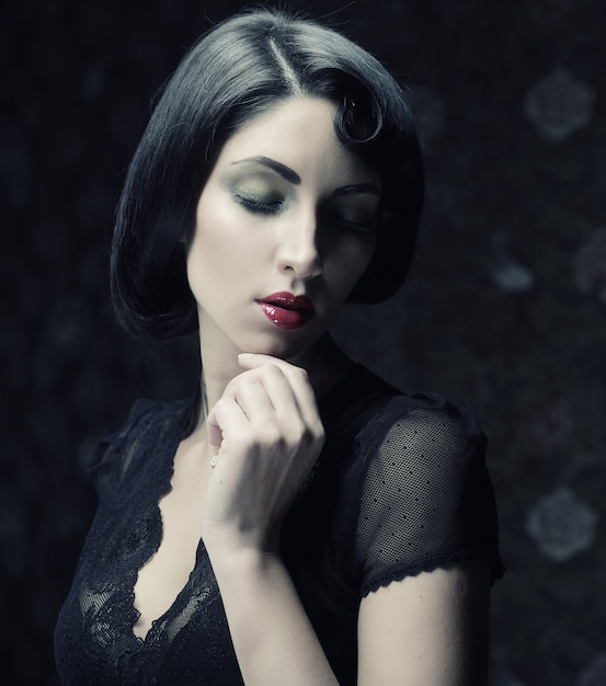 Mode frauenporträt, Premium Fotos